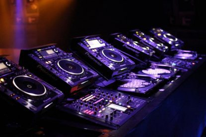 DJ mixers for nightclubs