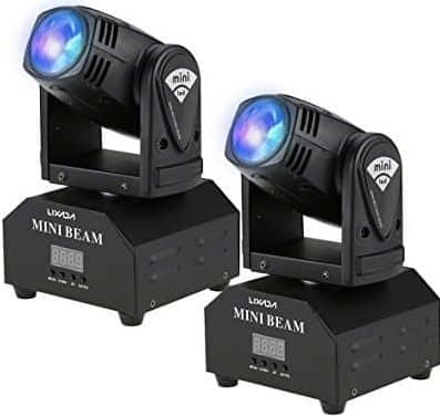 moving heads disco lights
