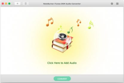 NoteBurner DRM Audio Converter