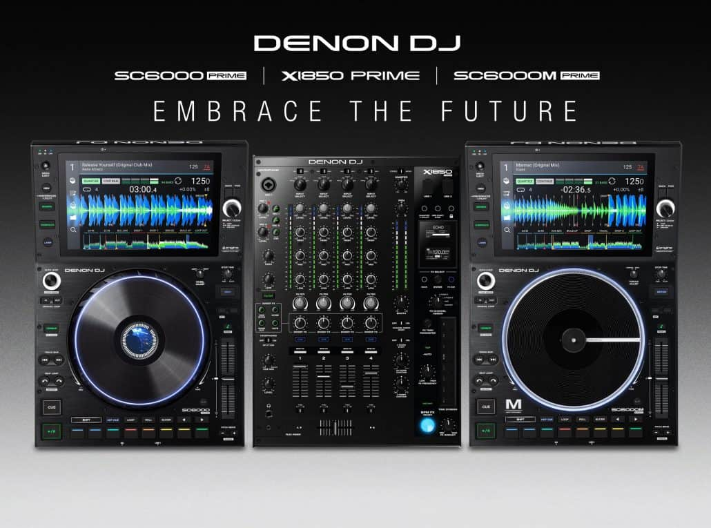Denon DJ hardware works with Soundcloud