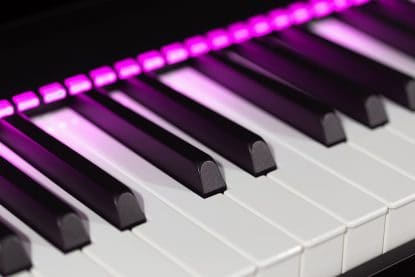 Most popular musical keys