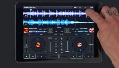 can you DJ with an iPad?