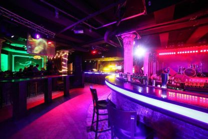 Nightclub bar can affect crowd reactions