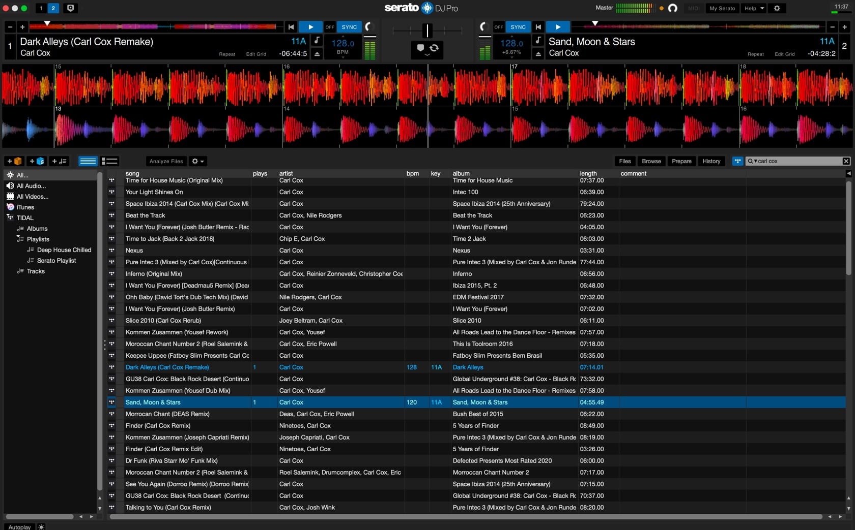 how to DJ with Tidal in Serato