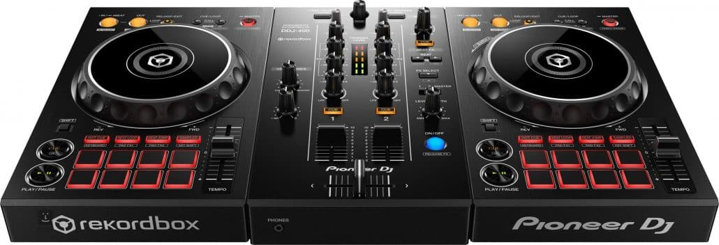Pioneer DDJ 400 works with Tidal