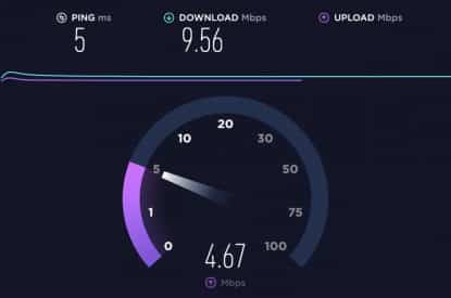 Internet speed for twitch