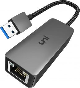 Twitch streaming USB to ethernet