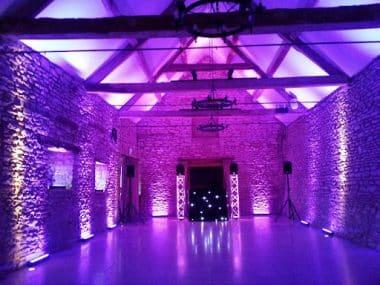 Wedding DJ lighting advice